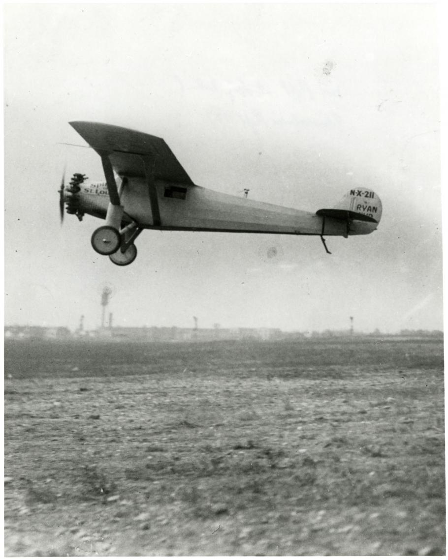 Test Flight of the Spirit of St. Louis