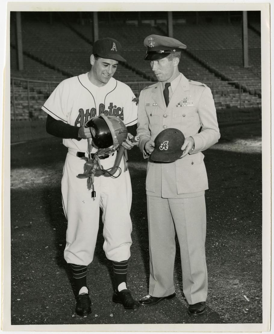 Kansas City Athletics' Manager, Lou Boudreau