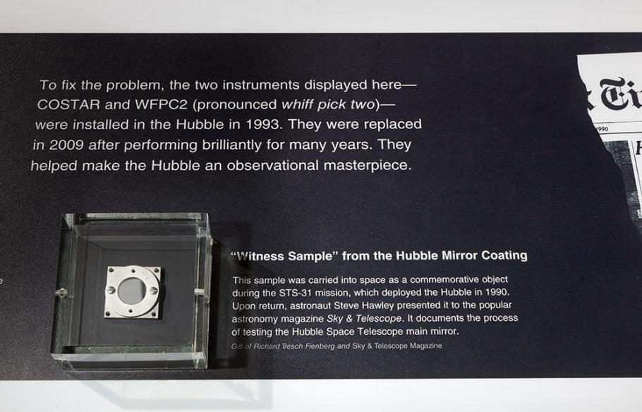 "Hubble \""Witness Sample"""