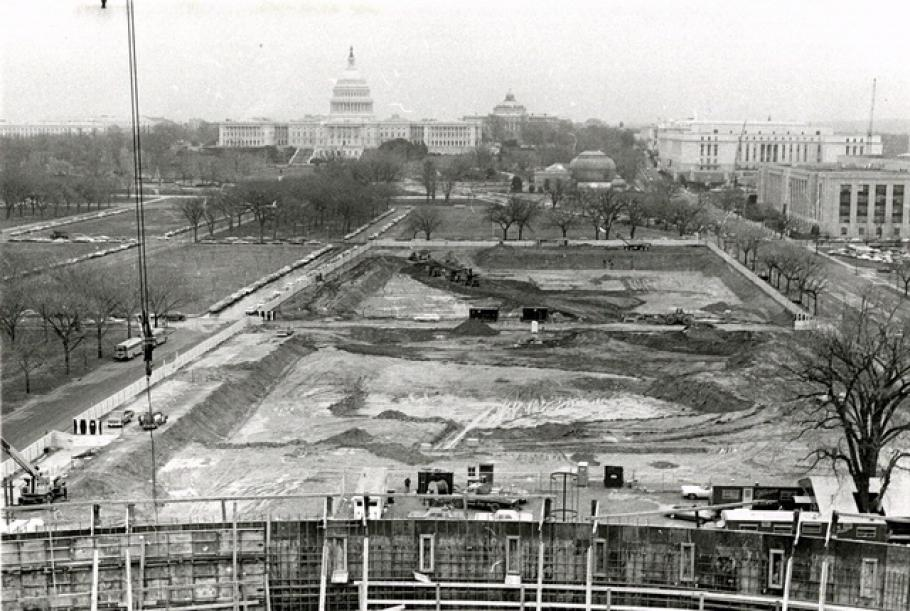 National Mall Building Construction