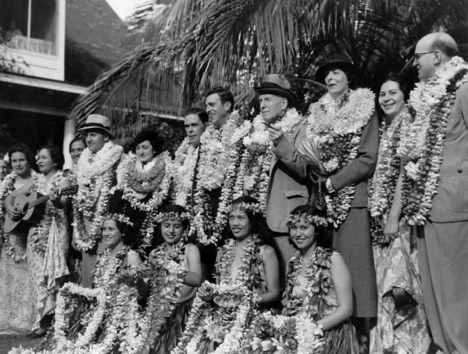 <em>Hawaii Clipper</em> Passengers