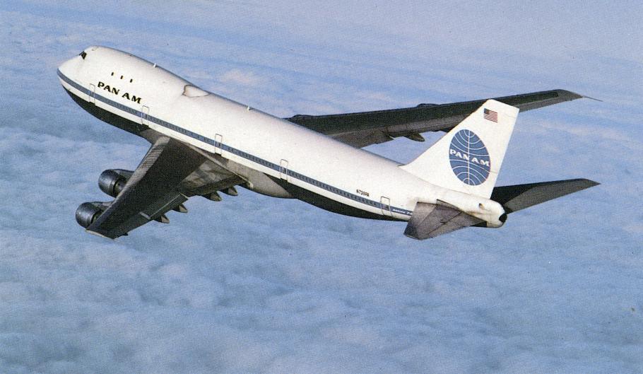 Pan Am Boeing 747