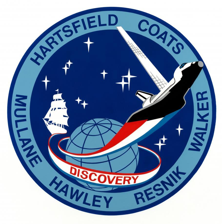 STS-41D Mission Patch