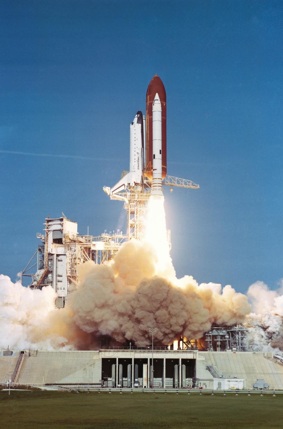 STS-41D Launch