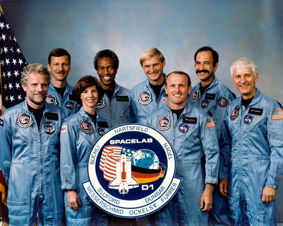 STS-61A Crew Portrait