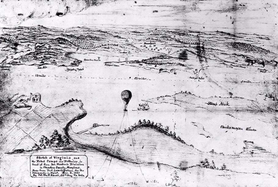 Colonel Small Civil War Map Copy