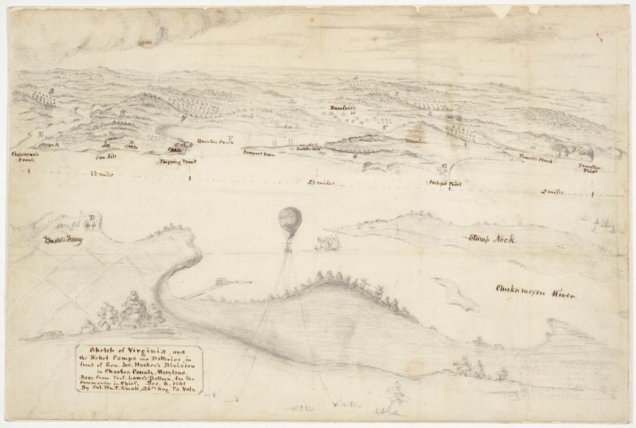 Colonel Small Civil War Map