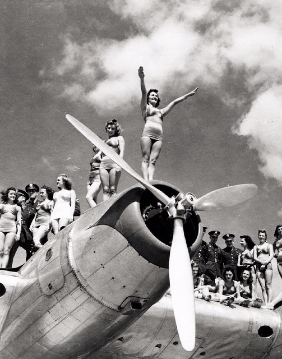 Aquabelles on Boeing XB-15
