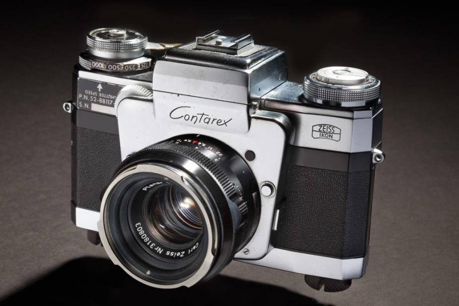 Zeiss Contarex Camera and Lens