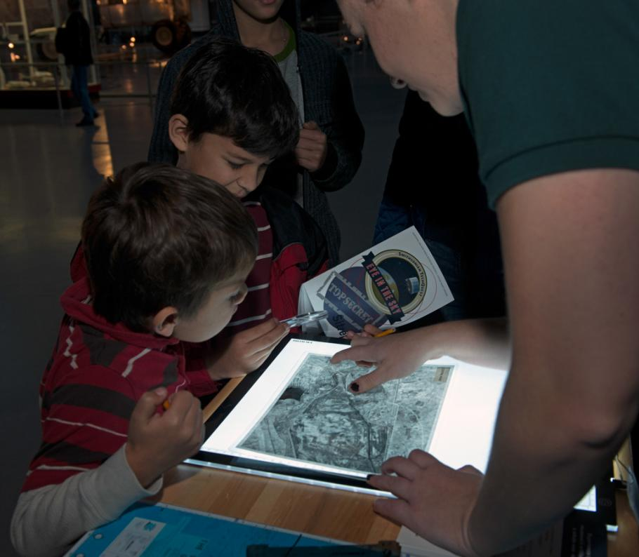 Staff and Visitors Work to Solve TechQuest