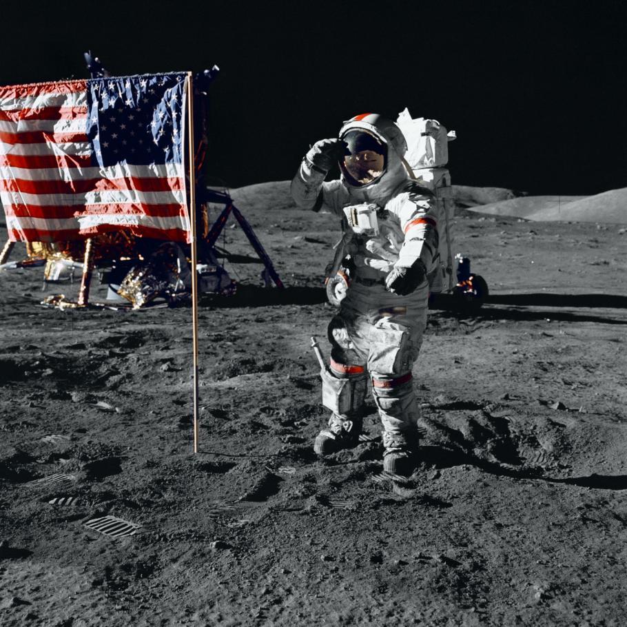 Apollo 17 Salute