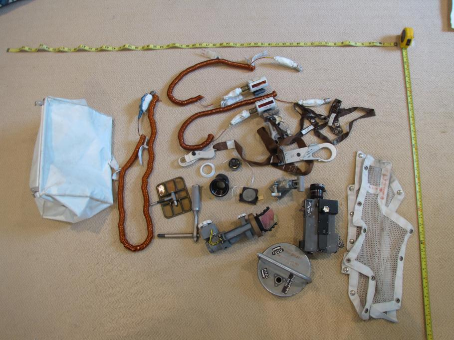 Objects from Apollo 11 Bag