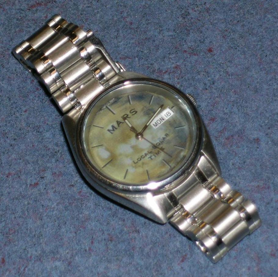 Watch that Uses Mars Time