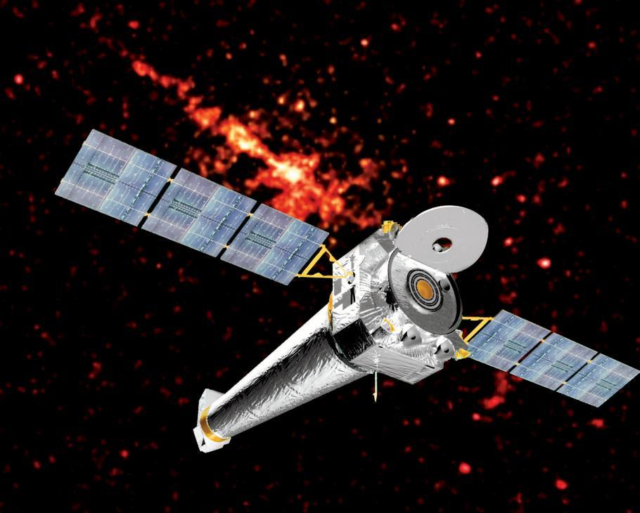 Chandra Satellite in Explore the Universe