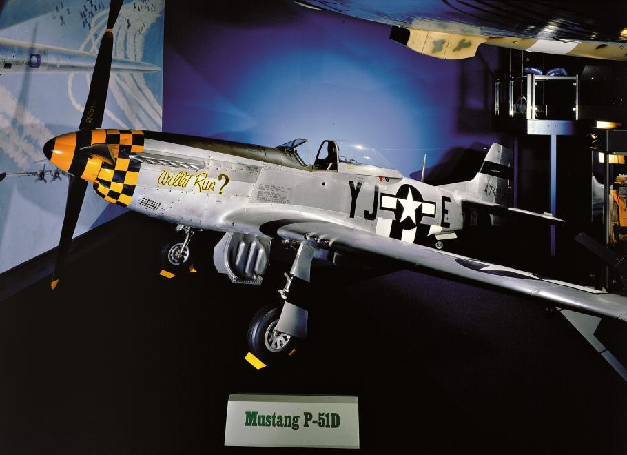 North American P-51 Mustang in World War II Aviation