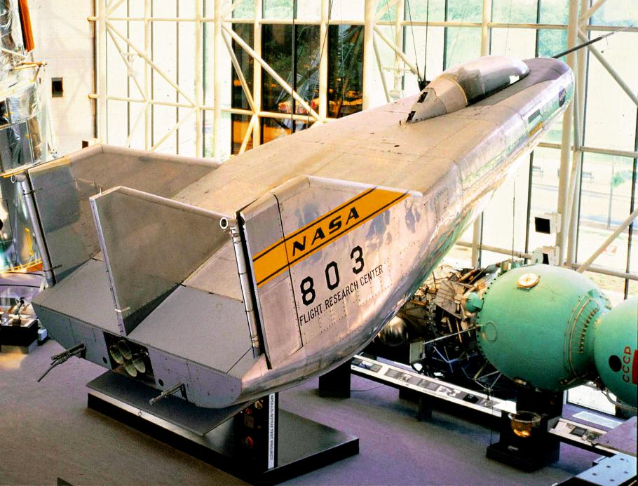 M2-F3 lifting body in Space Race
