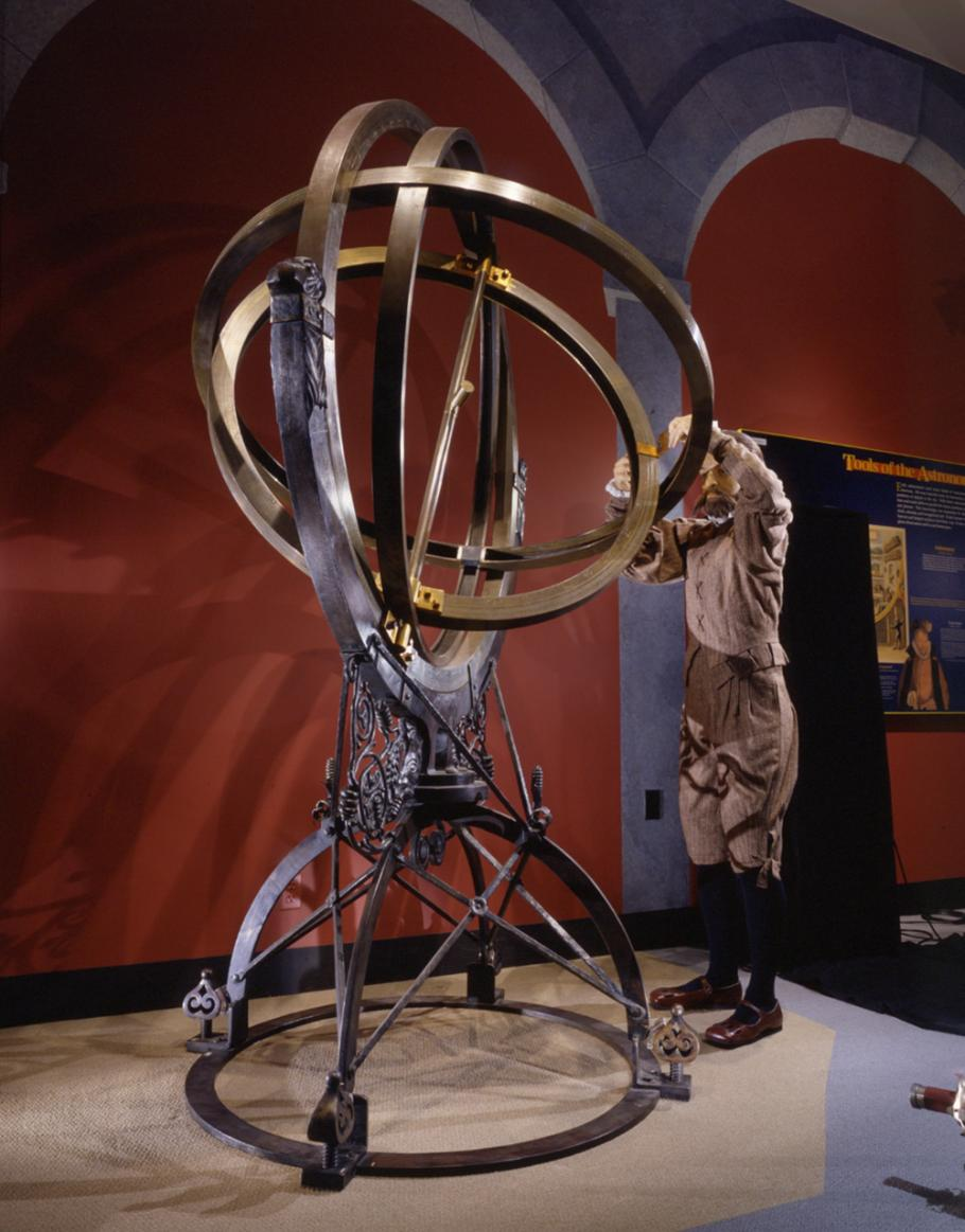 Explore the Universe Exhibition Armillary Sphere