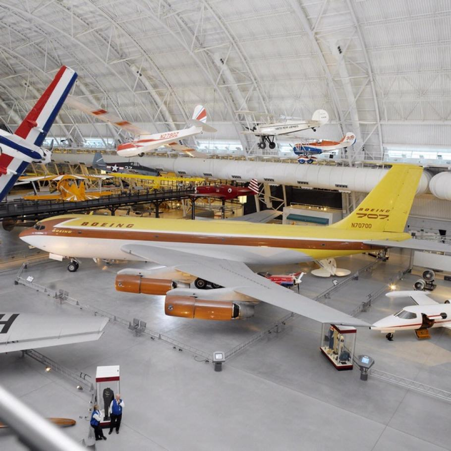 "Boeing 367-80 ""Dash 80"" at the Udvar-Hazy Center"