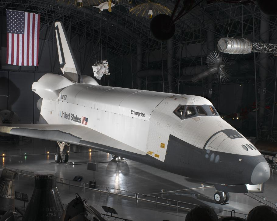 Space Shuttle Enterprise at the Udvar-Hazy Center