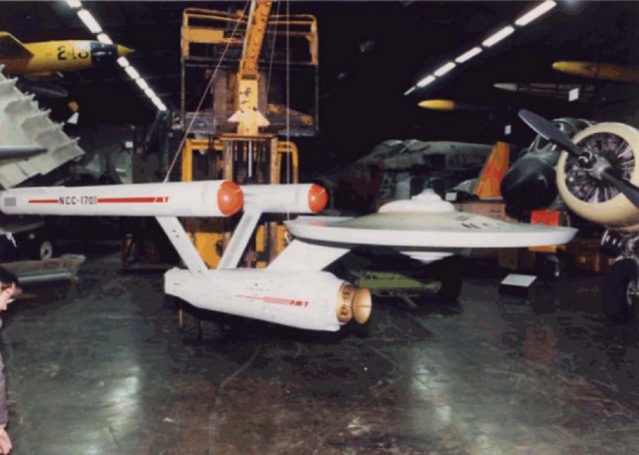 """Star Trek Starship """"Enterprise"""" Model Restoration #3"""