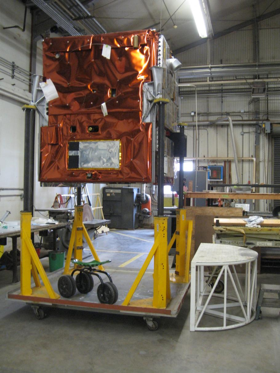 ATS-6 Earth Viewing Module in Restoration Shop