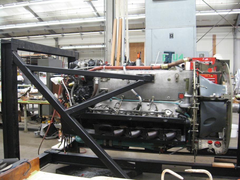 Heinkel He-219 Restoration - Engine