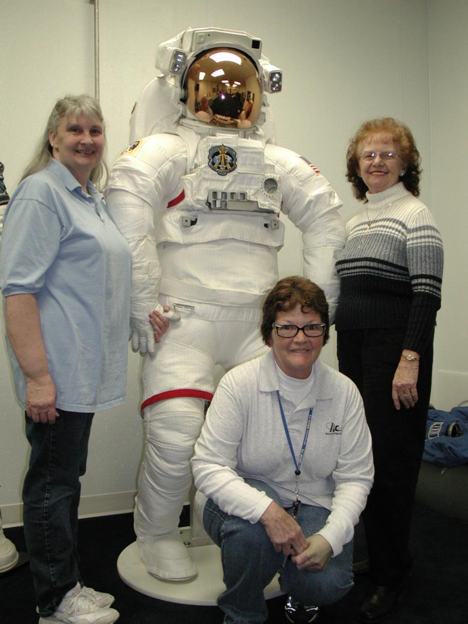 Spacesuit and ILC Seamstresses