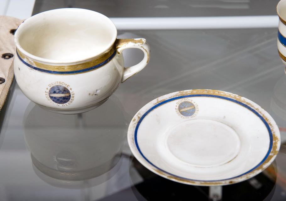 Hindenburg Cup and Saucer