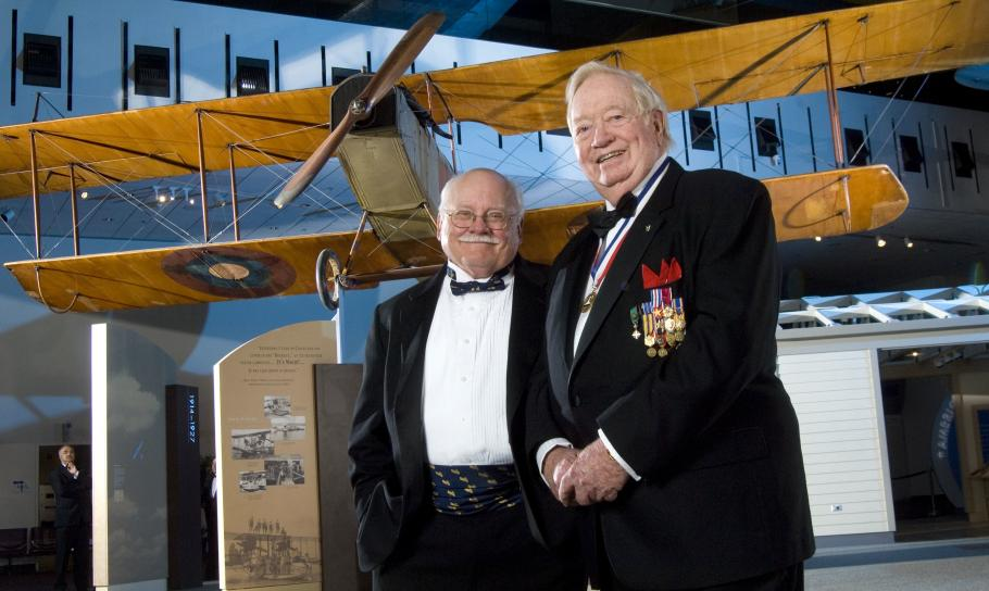 Joseph Kittinger with Tom Crouch