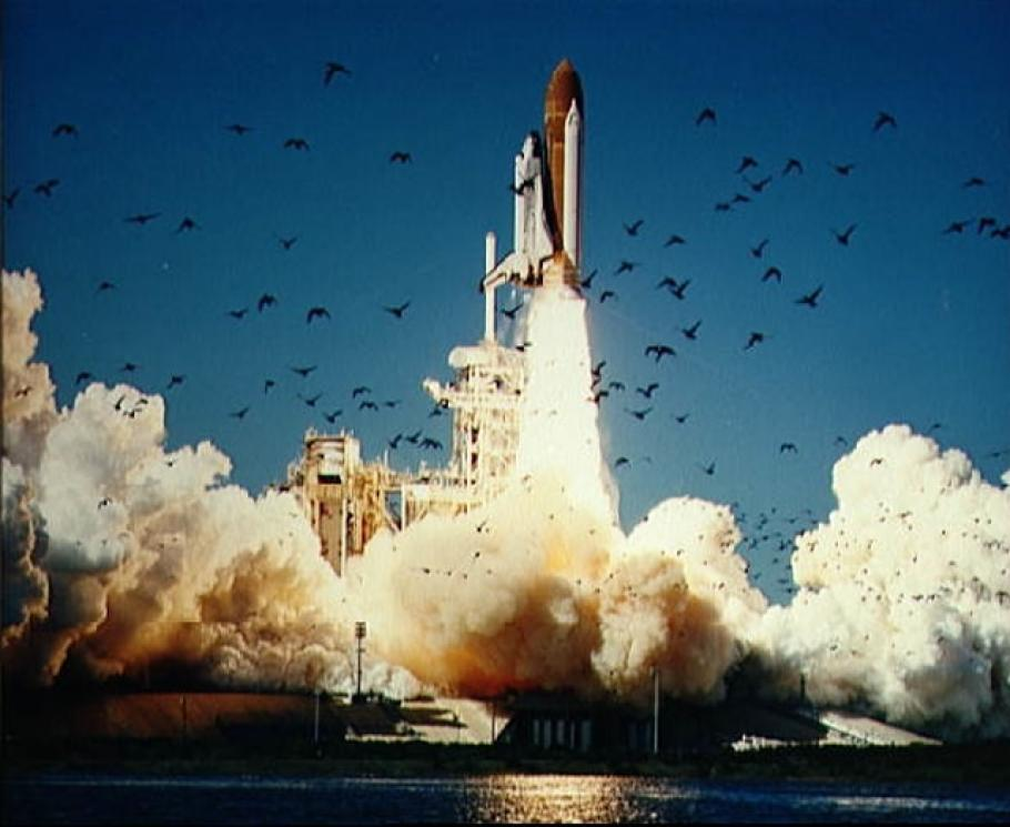 Final Challenger Launch
