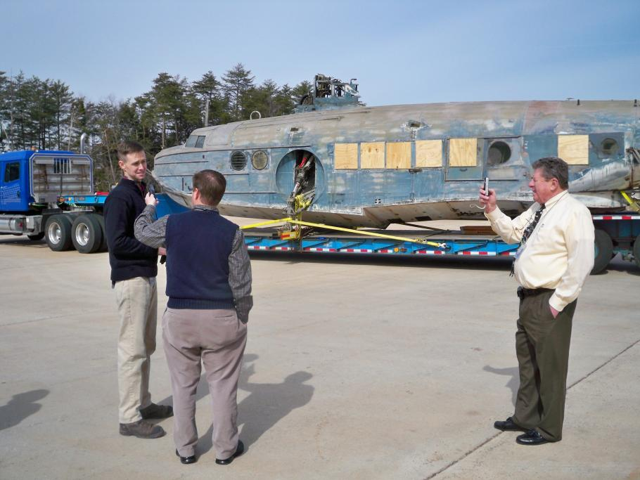 Doug Erickson Interviewed During Sikorsky JRS-1 Move to Udvar-Hazy Center
