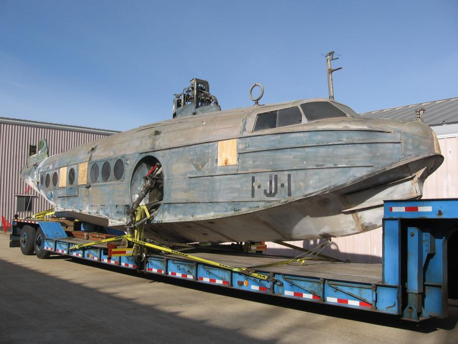 Sikorsky JRS-1 Hull