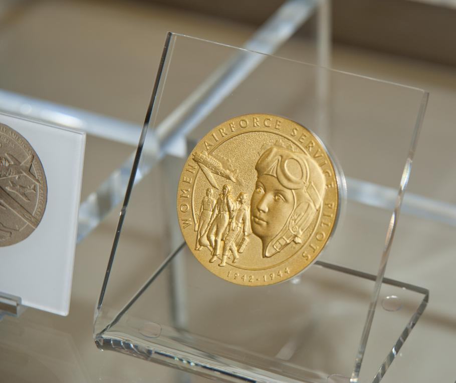 Photo of WASP Congressional Gold Medal