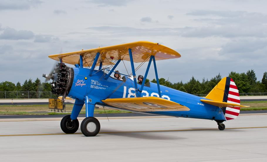 Spirit of Tuskegee Taxis to the Udvar-Hazy Center