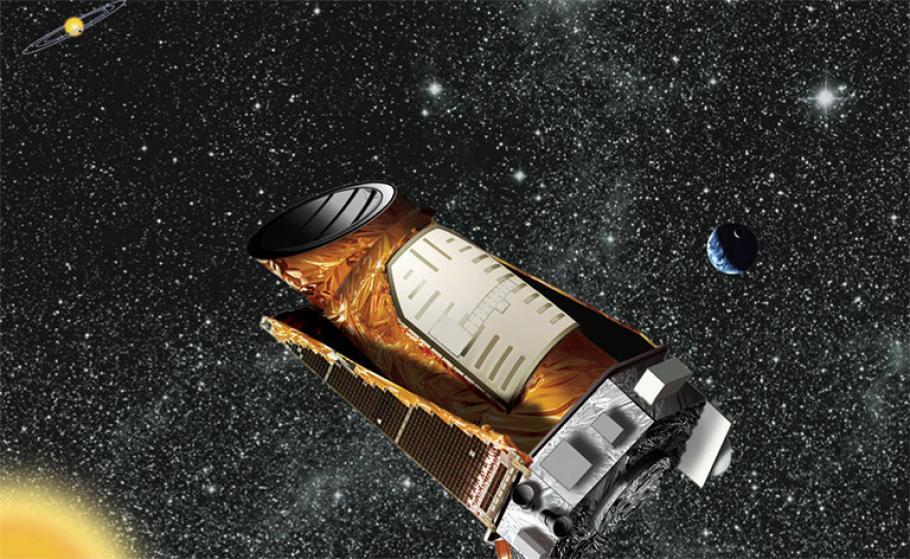 Illustration of the Kepler spacecraft