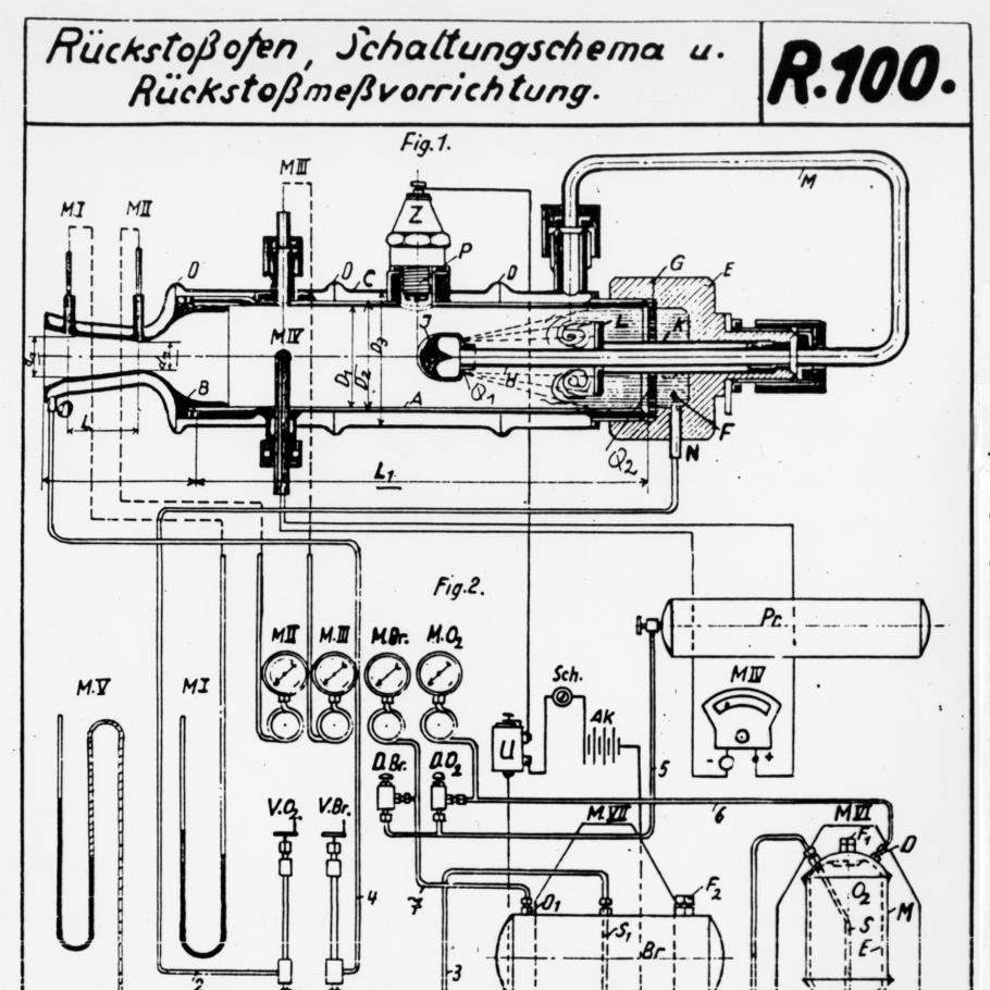 A diagram with German writing on it.