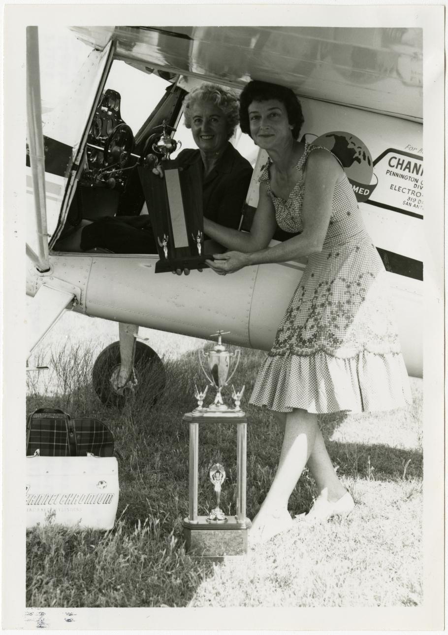 Winning Air Race Team