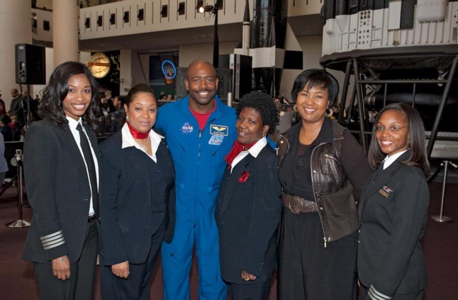 African American Pioneers in Aviation History Family Day 2010
