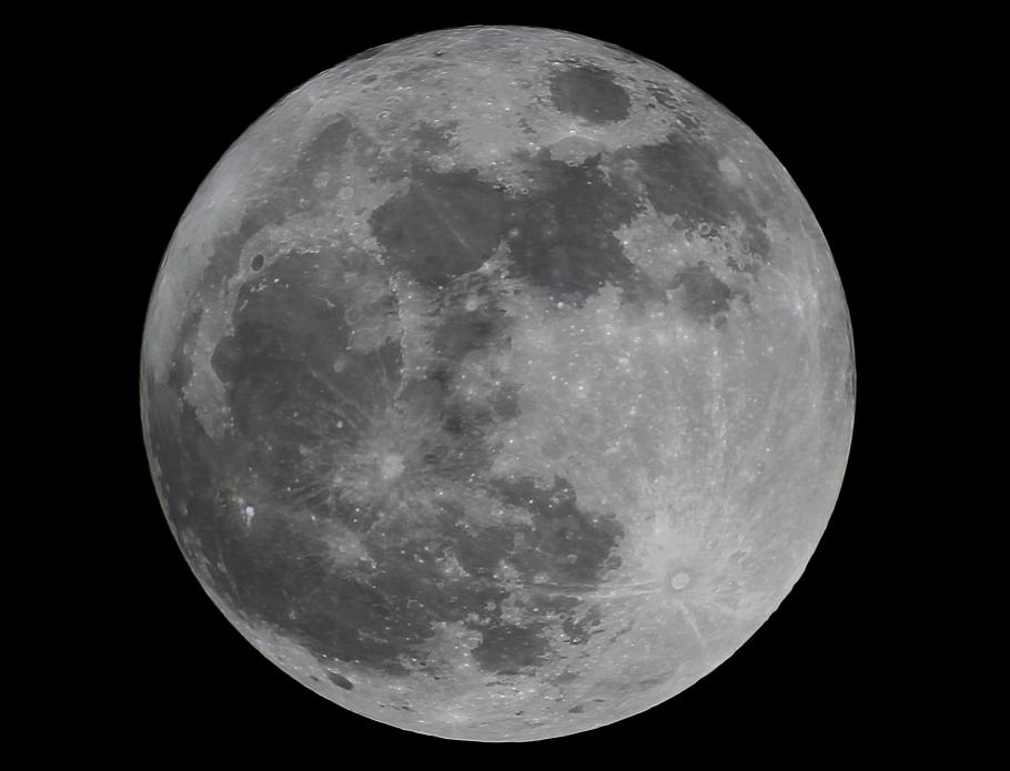 The year's first full moon is sometimes known as the Wolf Moon. This year's Wolf Moon occurred on January 1, 2018.