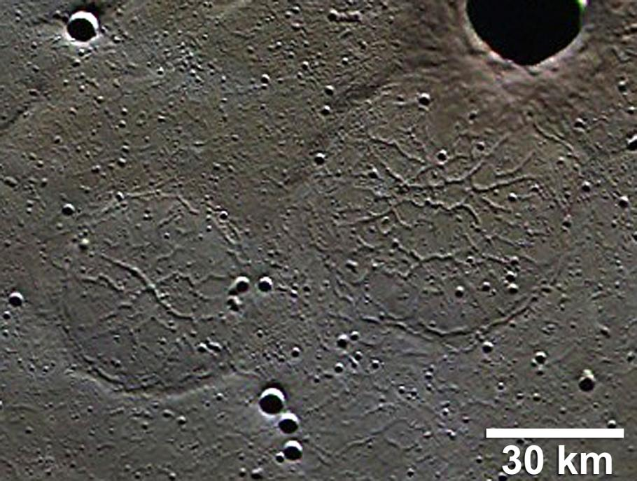 Goethe Pie Tectonic Ghost Craters
