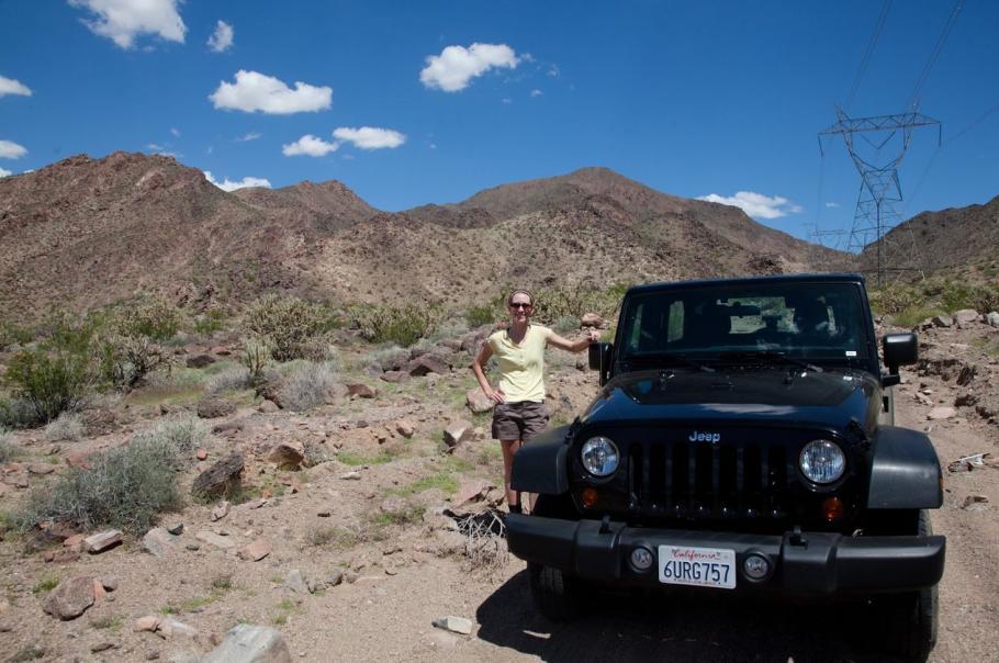 Ashley Hornish in the Mojave Desert