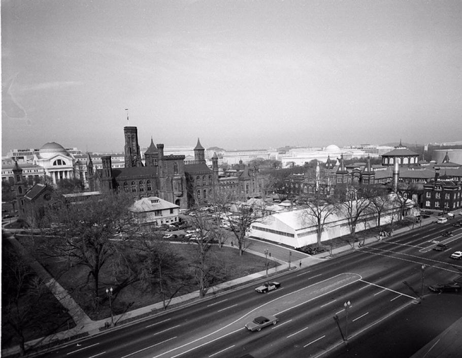 Smithsonian South Yard in 1974