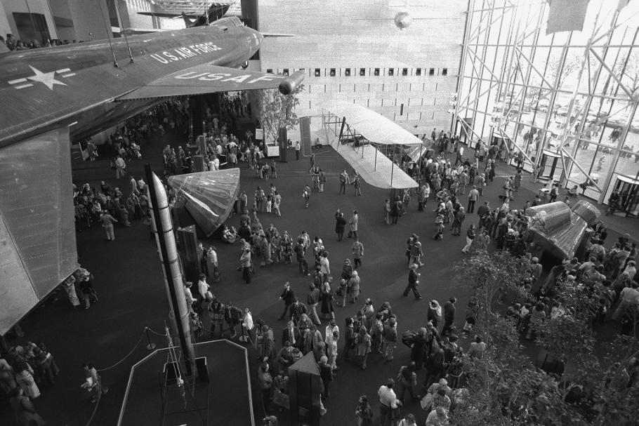 Museum Visitors, 1976