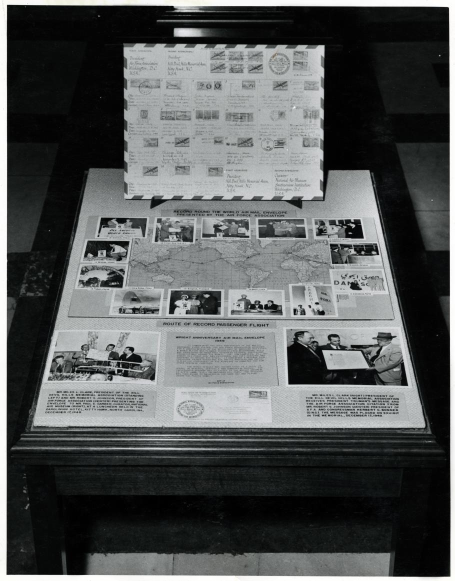 Air Mail Envelope Exhibit