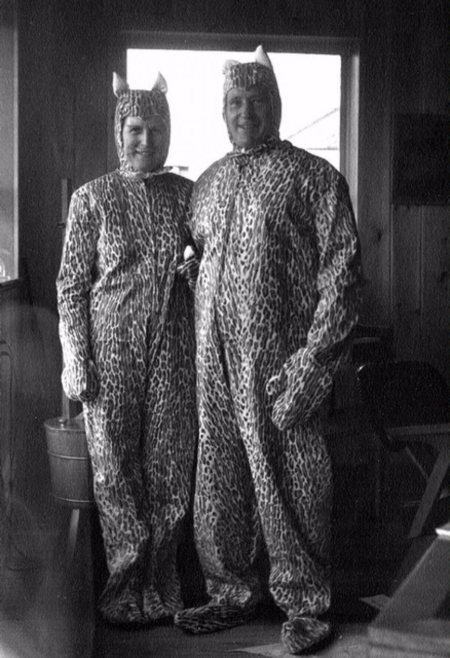 Teddy & Ted Kenyon in Halloween Costumes