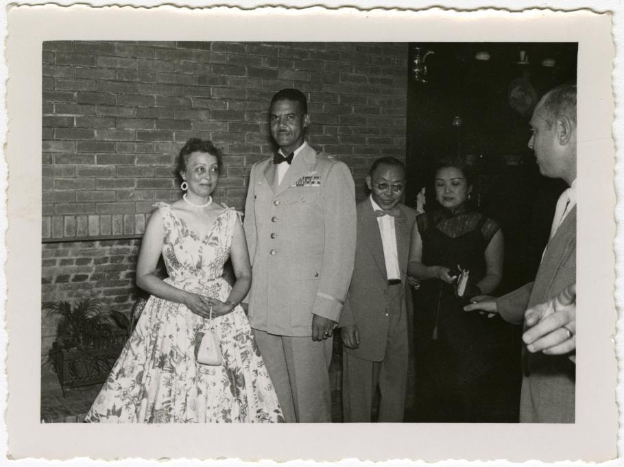 Benjamin and Agatha Davis at a Party