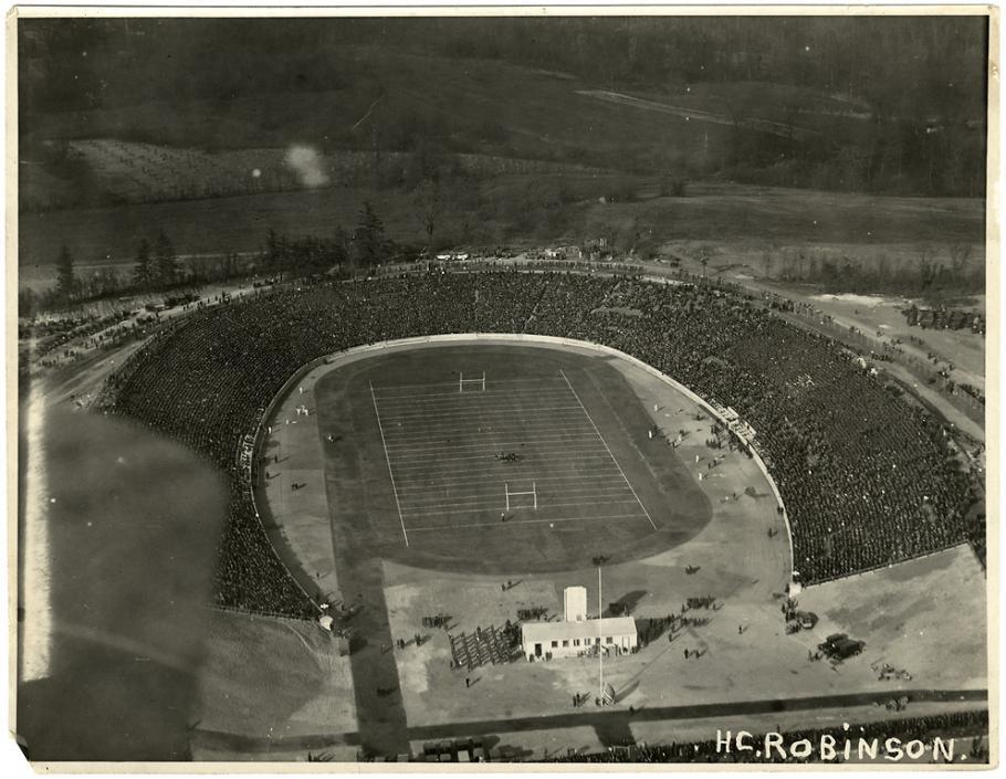 Aerial Image of Baltimore Stadium 1922