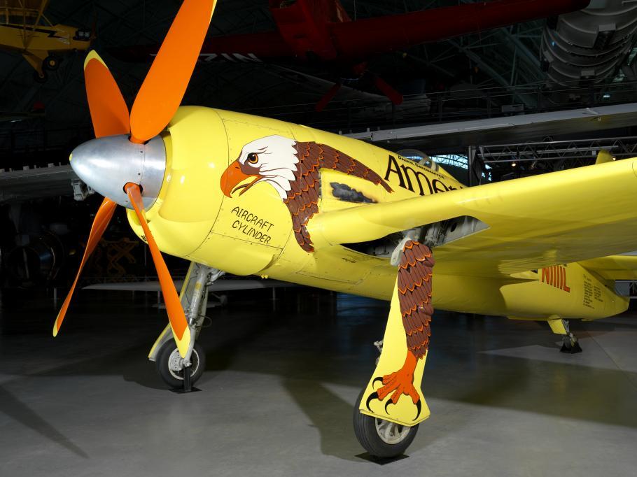 """Grumman F8F-2 Bearcat """"Conquest 1"""""""