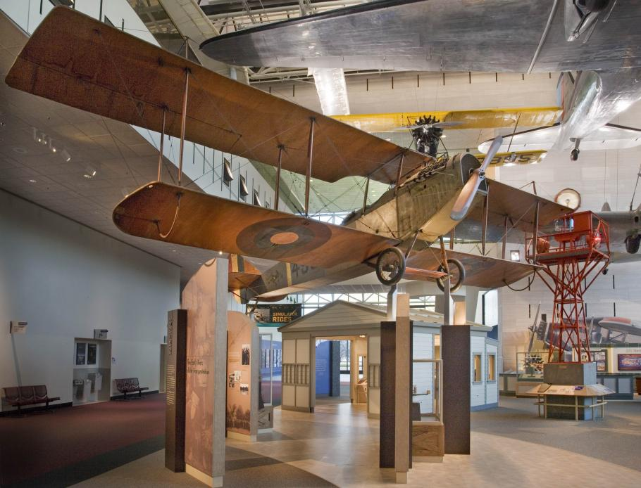 Curtiss JN-4D Jenny in America by Air