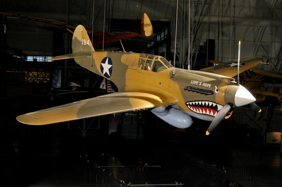 The Smithsonian's P-40E